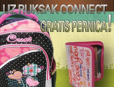 UZ RUKSAK CONNECT – PERNICA GRATIS!