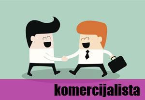 Oglas za posao – Komercijalista